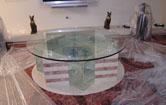 Аквариум экзотический, журнальный столик, оргстекло 30мм. 350л.